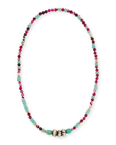 Cuban Long Beaded Necklace, 42