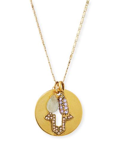 Hamsa Talisman Pendant Necklace