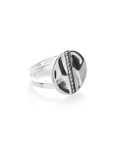 925 Senso&#153 Disc Ring with Diamonds