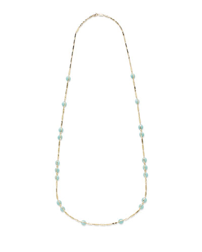 18K Senso&#174 Necklace in Turquoise, 40