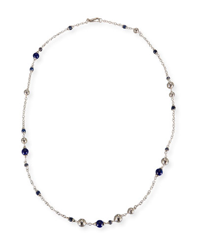 Batu Dot Lapis Sautoir Necklace, 36