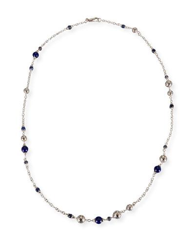 Batu Dot Lapis Sautoir Necklace, 36