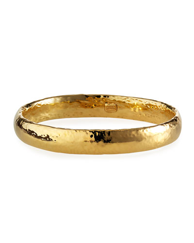 Puffy Glamazon Gold Bangle