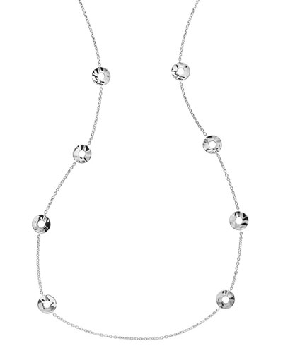 Senso Disc Station Necklace, 37