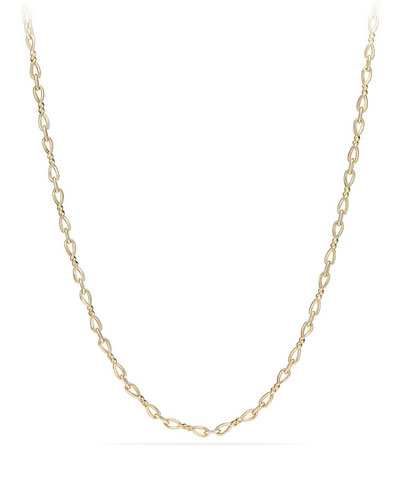 Continuance Small 18K Yellow Gold Chain Necklace, 18