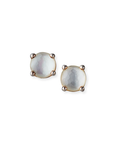 Rock Candy Stud Earrings in Mother-of-Pearl