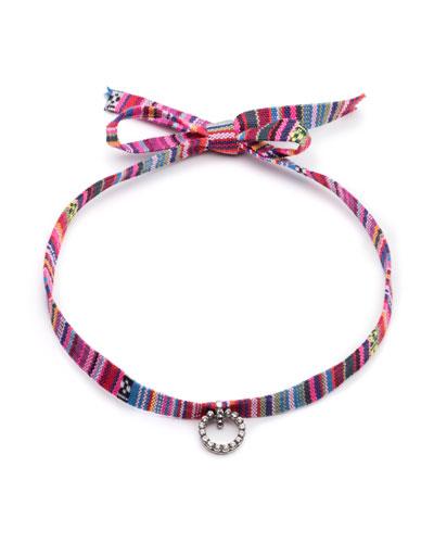 Sabra Striped Choker Necklace