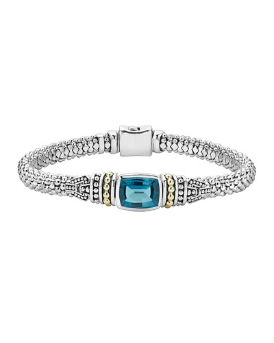 Caviar Color London Blue Topaz Bracelet