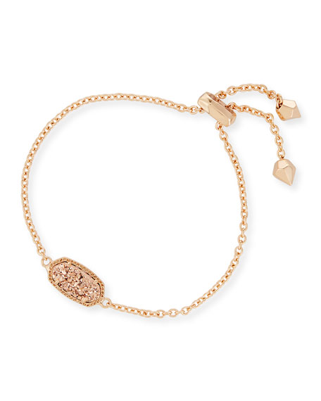 Kendra Scott Elaina Statement Bracelet in Rose Gold Plate
