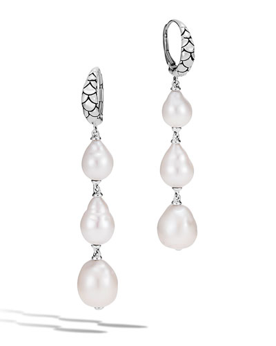 Legends Naga Baroque Pearl Dangle Earrings