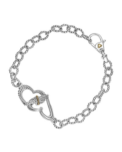 Beloved Sterling Silver Link Bracelet