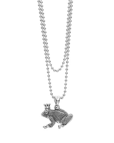 Rare Wonders Caviar Frog Necklace