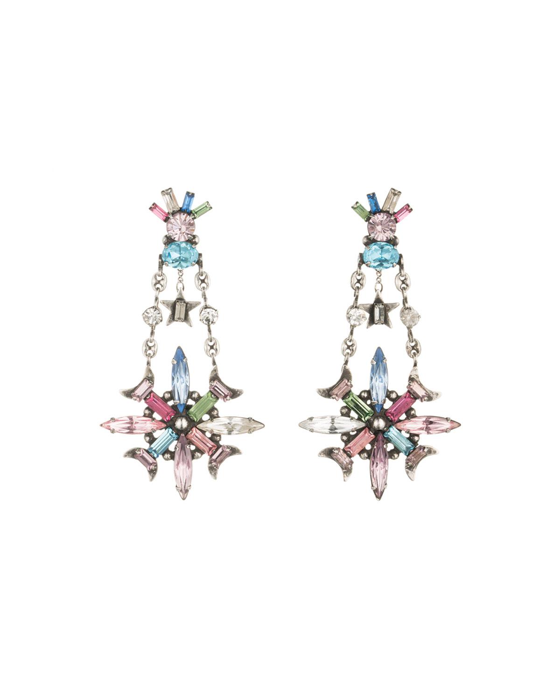 Jamilah Crystal Statement Earrings