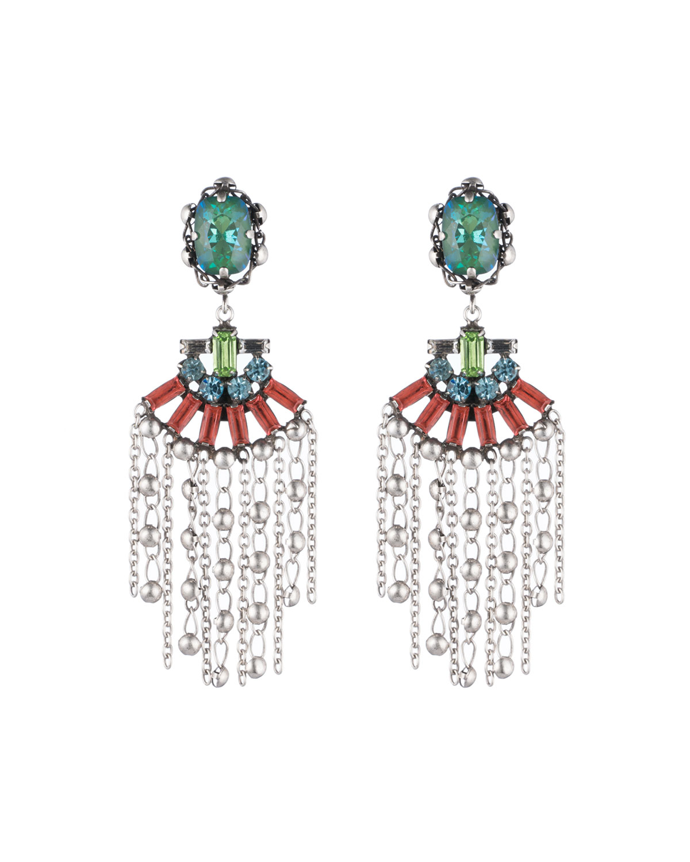 Freya Crystal Statement Earrings