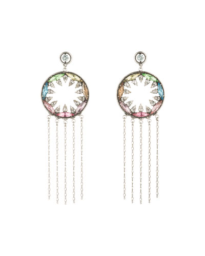 Zahra Crystal Statement Earrings