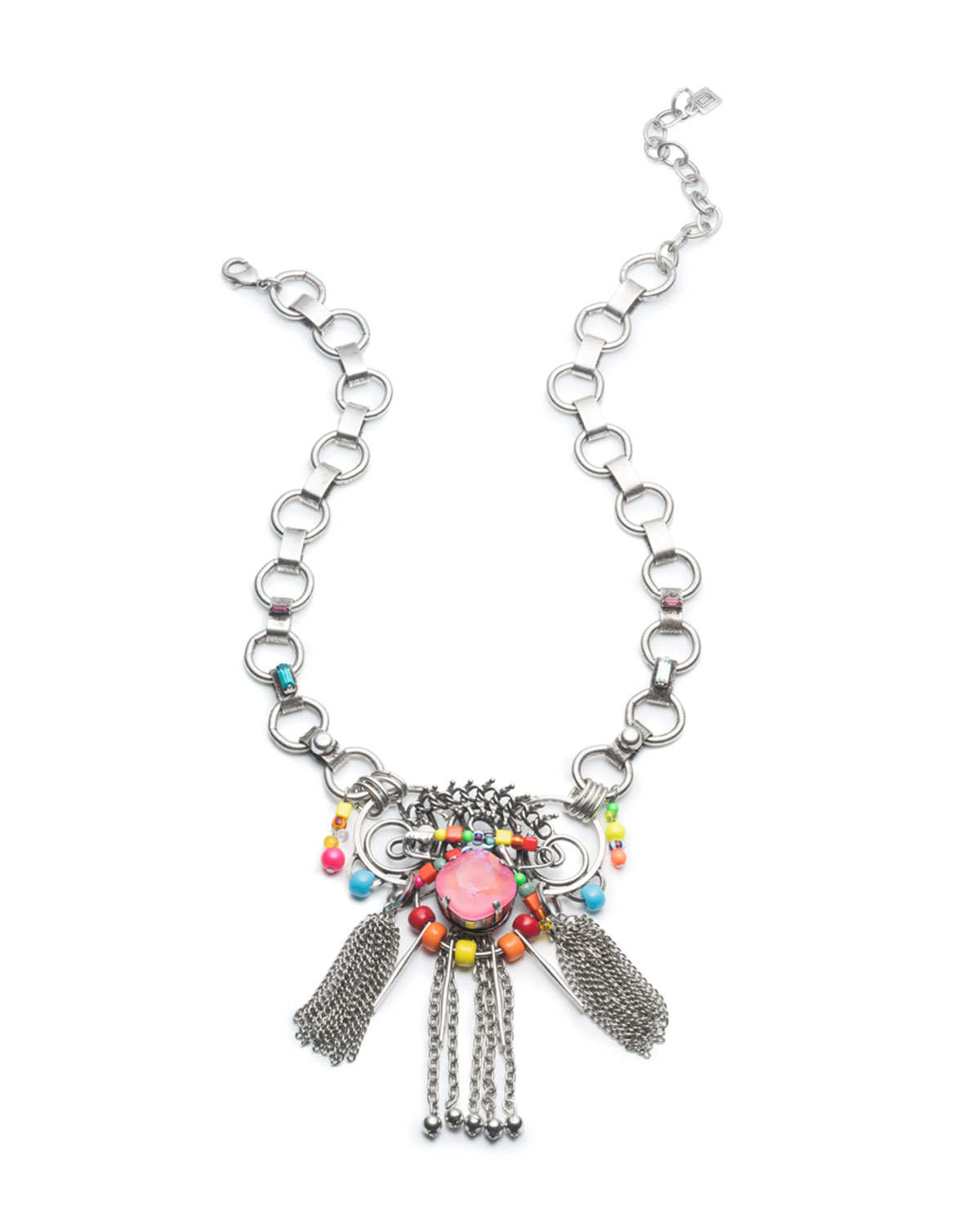 Aloha Crystal Statement Necklace