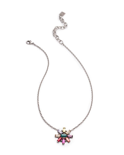 Jana Crystal Pendant Necklace