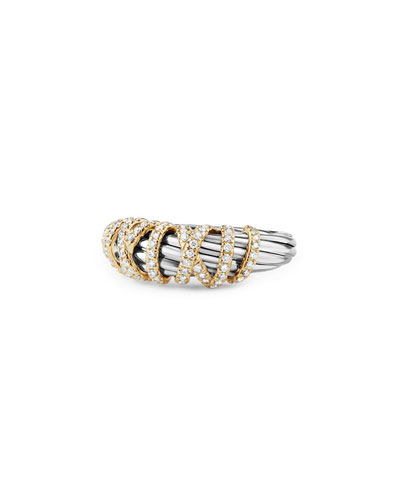 8mm Helena Diamond Wrap Ring