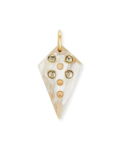 Mhindi Light Horn Pendant