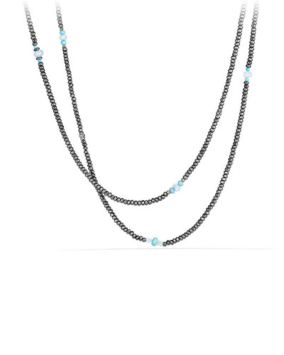 Mustique Tweejoux Beaded Long Beaded Necklace, 62