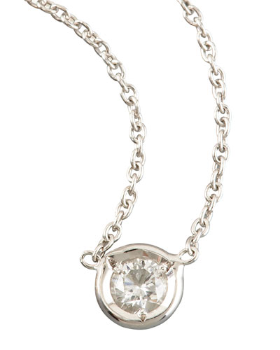 Diamond-Station Necklace