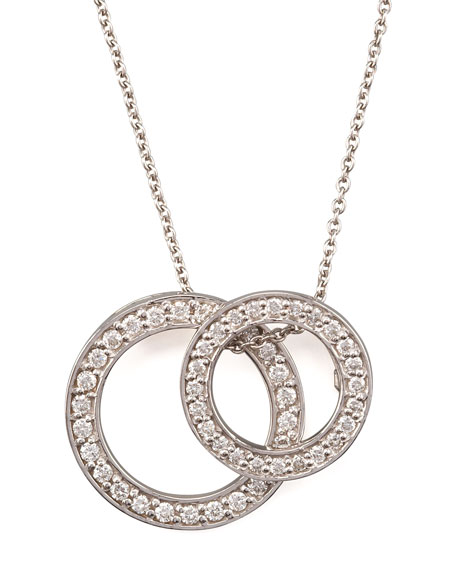 Roberto Coin Two-Circle Pendant Necklace