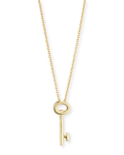 Key Pendant Necklace