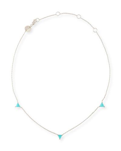 Koi Turquoise Station Choker Necklace