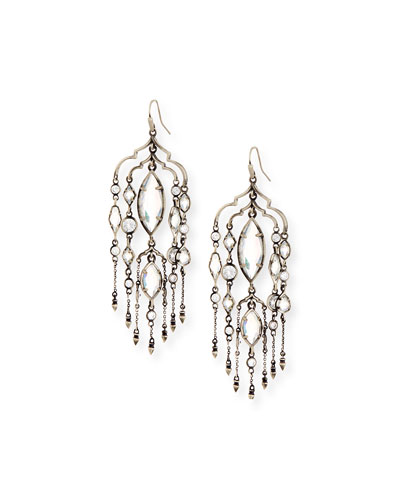 Emma Crystal Duster Earrings