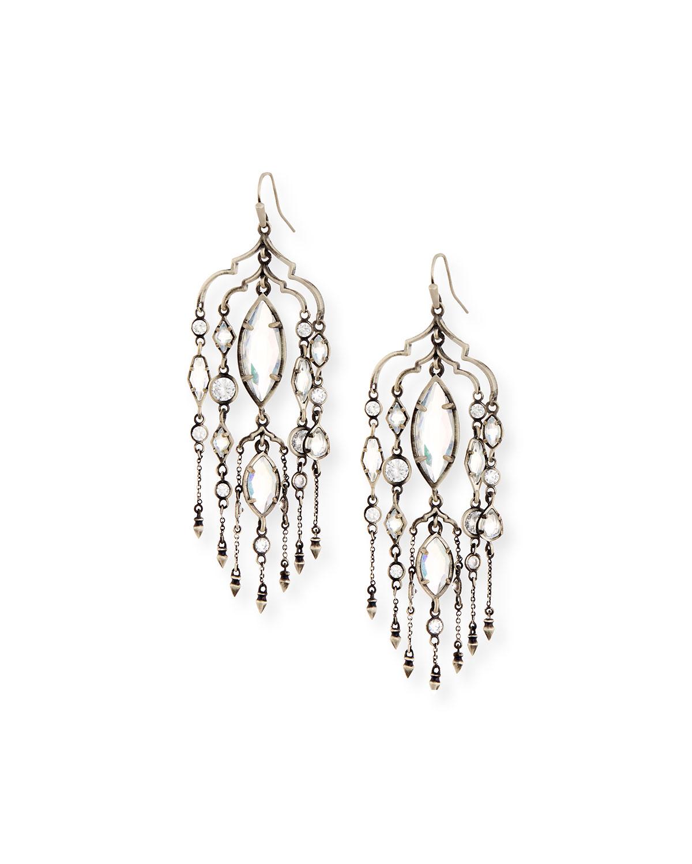 Emma Crystal Duster Earrings