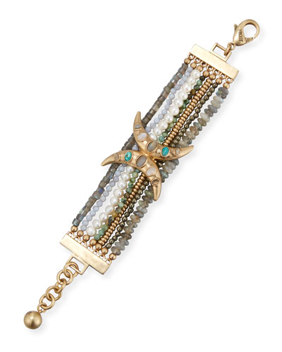 Andalusia Beaded Statement Bracelet