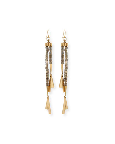 Fontana Long Drop Earrings