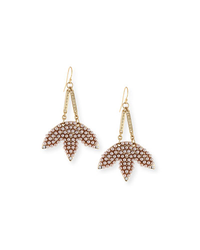 Tuileries Statement Drop Earrings