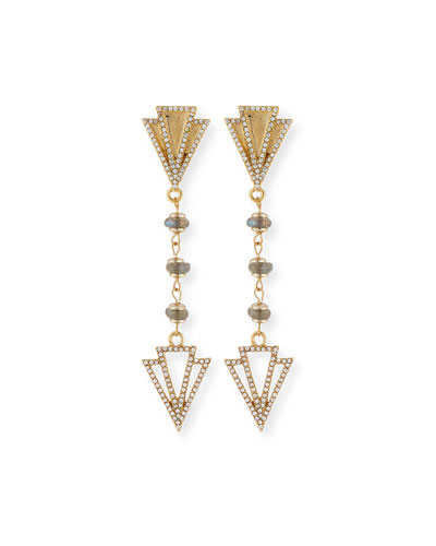 Granada Crystal Drop Earrings