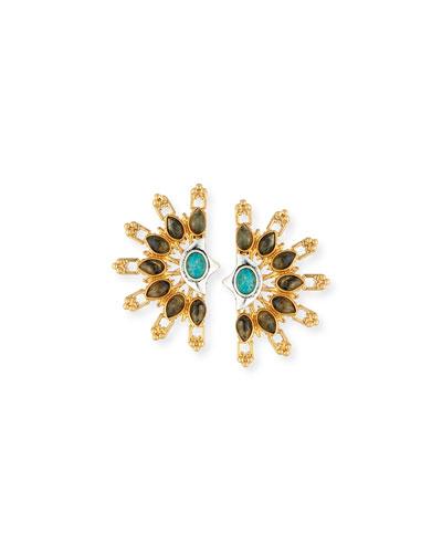 Marjorelle Cabochon Statement Earrings