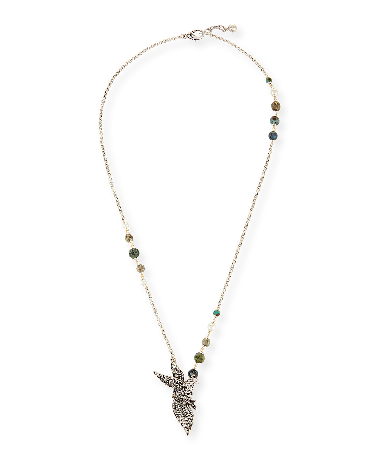 Lulu Frost CANOPY LONG PENDANT NECKLACE