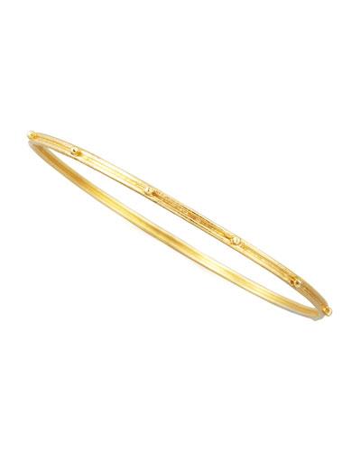 Granulated 18k Gold Bangle