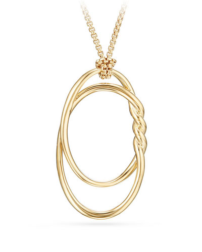 47mm Continuance 18K Gold Pendant Necklace