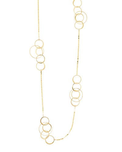 Bond 14K Long Link Necklace, 36