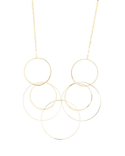 Bond Long Link Necklace in 14K Yellow Gold