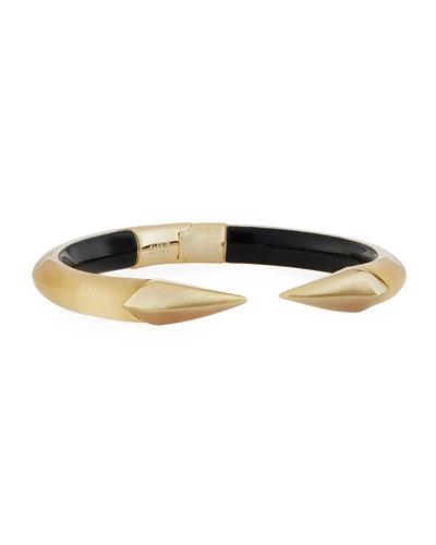 Mirror Brake-Hinge Bracelet, Golden