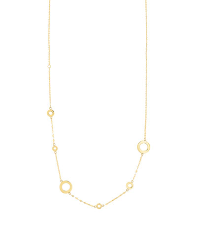Bond 14K Open Link Necklace, 20