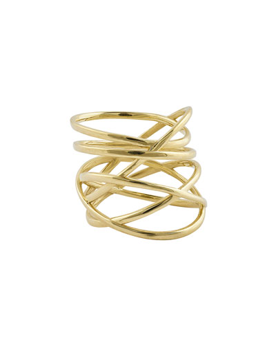 Bond Multi-Row 14K Gold Ring