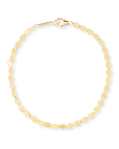 Lana Jewelry Bond 14K Flat Link Chain Bracelet O0BWV7m2