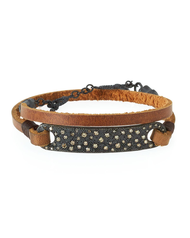 Black leather pearl wrap around fashion bracelet ASOS Online Shopping for the Latest Clothes & Fashion