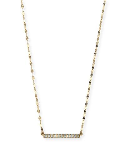 Mirage Blake Diamond Bar Necklace