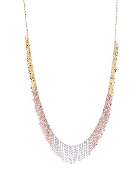 Lana Three-Tone Fringe Necklace