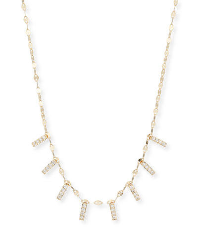 Flawless Mini Diamond Bar Necklace
