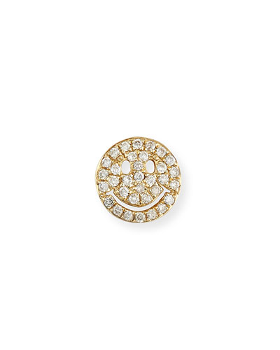 d473bbc5f2ff Gold Pave Diamond Stud Earrings