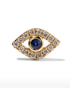 Sydney Evan 14k Diamond Mini Evil Eye Single